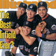 New York Mets The Best Infield Ever Sports Illustrated Cover Art Print