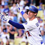 New York Mets V Los Angeles Dodgers Art Print