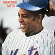 New York Mets Willie Mays Sports Illustrated Cover Art Print
