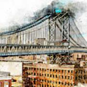 New York Panorama - 29 Art Print