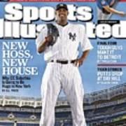 New York Yankees Cc Sabathia Sports Illustrated Cover Art Print