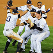 New York Yankees Celebrate 27th World Art Print