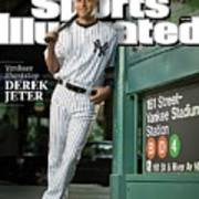 New York Yankees Derek Jeter, 2009 Sportsman Of The Year Sports Illustrated Cover Art Print