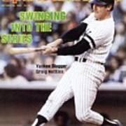 New York Yankees Graig Nettles, 1981 Al Championship Series Sports Illustrated Cover Art Print