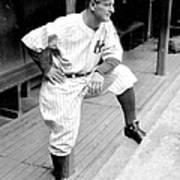 New York Yankees Lou Gehrig Art Print