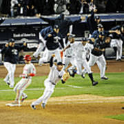 New York Yankees Mark Teixeira Makes Art Print