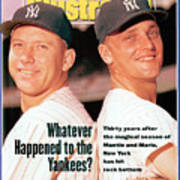 New York Yankees Mickey Mantle And Roger Maris Sports Illustrated Cover Art Print