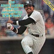 New York Yankees Reggie Jackson... Sports Illustrated Cover Art Print
