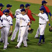 New York Yankees V Texas Rangers, Game 2 Art Print