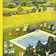 New Yorker August 10th 1946 Art Print
