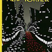 New Yorker Cover - April 2 1927 Art Print