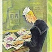 New Yorker February 14th 1942 Art Print
