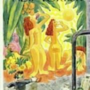 New Yorker January 25th 1947 Art Print