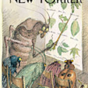New Yorker July 10th, 2000 Art Print