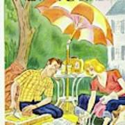 New Yorker July 12th 1947 Art Print