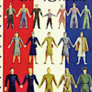 New Yorker July 3rd 1943 Art Print