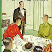 New Yorker November 27th 1943 Art Print