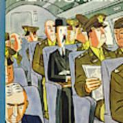New Yorker September 18th 1943 Art Print