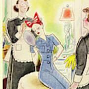 New Yorker September 4th 1943 Art Print
