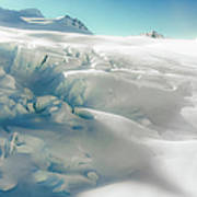New Zealand - Dreamy Glacier Landscape Art Print