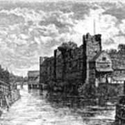 Newark Castle And The River Trent Art Print