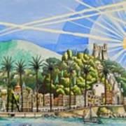 Nice Waterfront Art Print