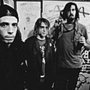 Nirvana Backstage Art Print