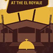 No1044 My Bad Times At The El Royale Minimal Movie Poster Art Print