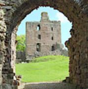 Norham Castle And Entrance Gate Art Print