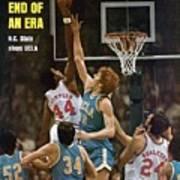 North Carolina State David Thompson, 1974 Ncaa Semifinals Sports Illustrated Cover Art Print