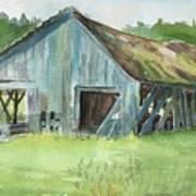 Northern State Farm, Skagit Valley Art Print