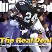 Northwestern University Darnell Autry Sports Illustrated Cover Art Print