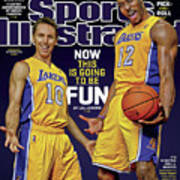Now This Is Going To Be Fun 2012-13 Nba Basketball Preview Sports Illustrated Cover Art Print