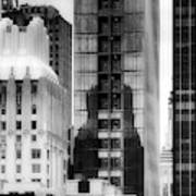 Nyc In Black And White Xv Art Print