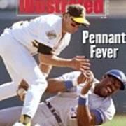 Oakland Athletics Walt Weiss, 1992 Al Championship Series Sports Illustrated Cover Art Print