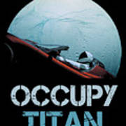 Occupy Titan Art Print