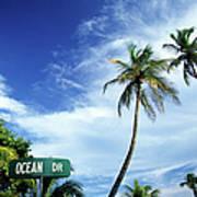 Ocean Drive, South Beach, Miami Art Print