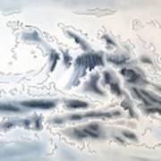 Ocean Rising Art Print