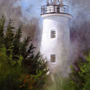 Ocracoke Light Art Print