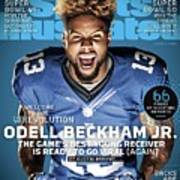 Odell Beckham Jr. Welcome To The Wrevolution, 2015 Nfl Sports Illustrated Cover Art Print