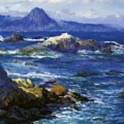 Off Mission Point Aka Point Lobos Art Print