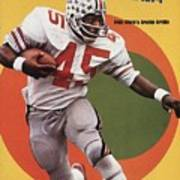 Ohio State Archie Griffin... Sports Illustrated Cover Art Print