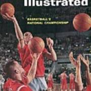 Ohio State Jerry Lucas... Sports Illustrated Cover Art Print