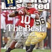 Ohio State Qb Troy Smith... Sports Illustrated Cover Art Print