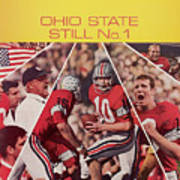 Ohio State Still No. 1 Sports Illustrated Cover Art Print