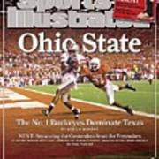 Ohio State Ted Ginn Jr... Sports Illustrated Cover Art Print