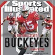 Ohio State University 2014 Ncaa National Champions Sports Illustrated Cover Art Print