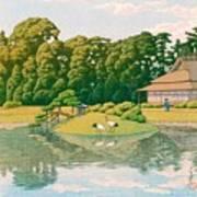 okayama kourakuen - Top Quality Image Edition Art Print