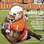 Oklahoma State University Dez Bryant Sports Illustrated Cover Art Print