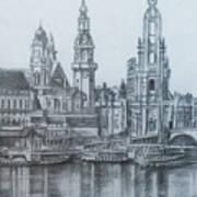 Old City Of Dresden- Dresden Art Print